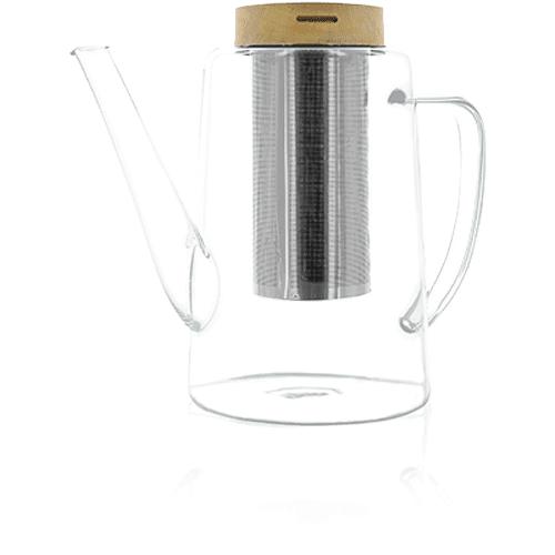KUSMI TEA Théière verre 1,2L OGO Thé vert  Kusmi Tea