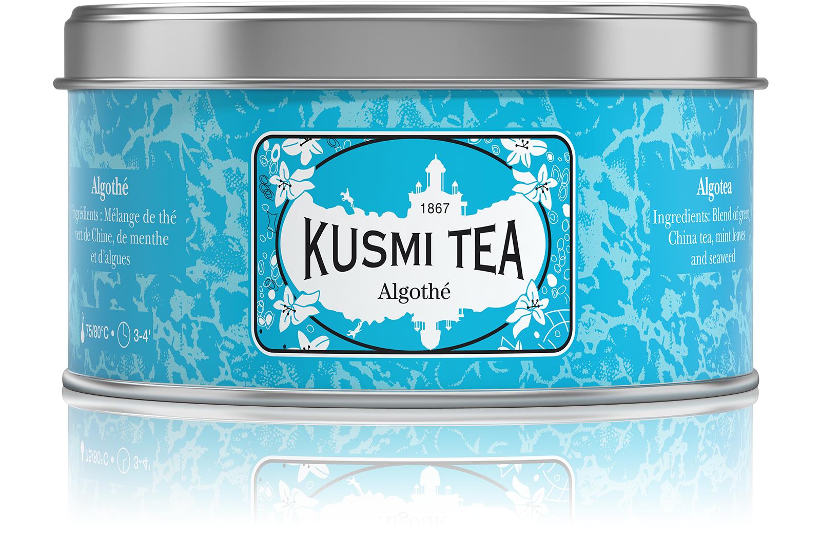 KUSMI TEA Algothé - Thé vert aromatisé aux algues et à la menthe - Kusmi Tea