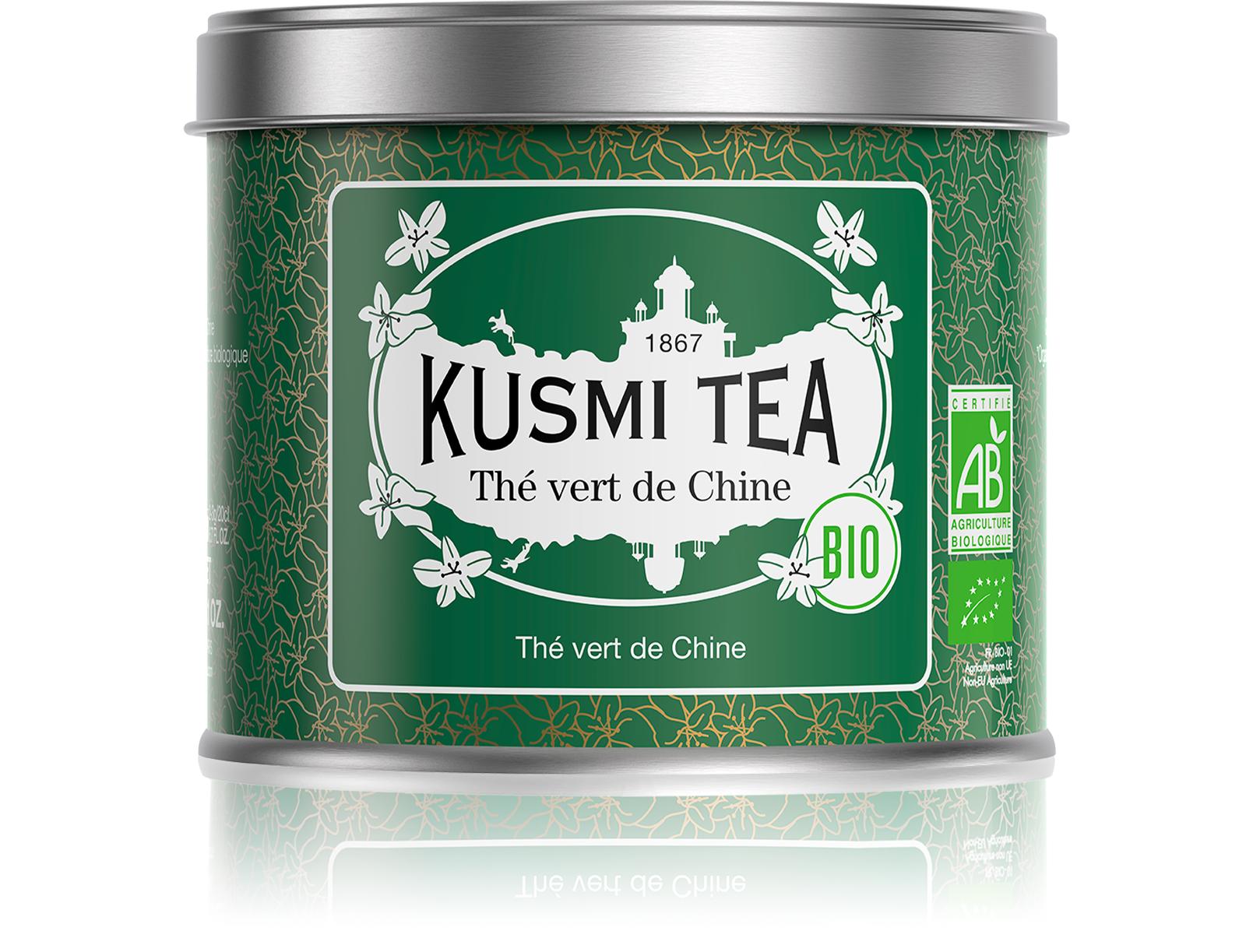 KUSMI TEA Thé Vert de Chine Bio Kusmi Tea