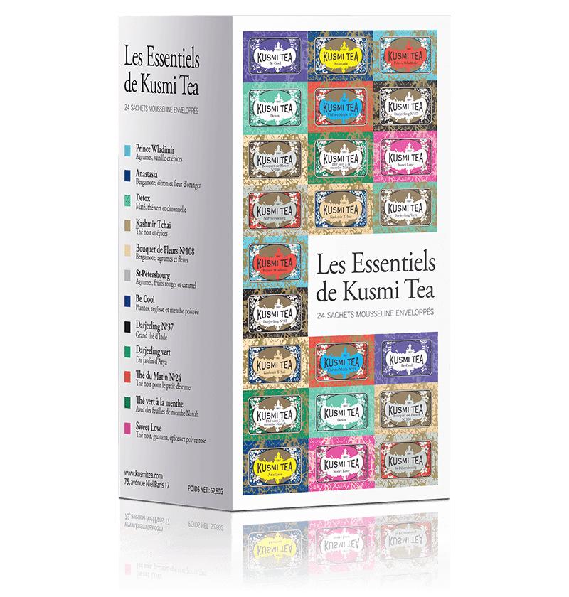 KUSMI TEA Coffret thés Les Essentiels