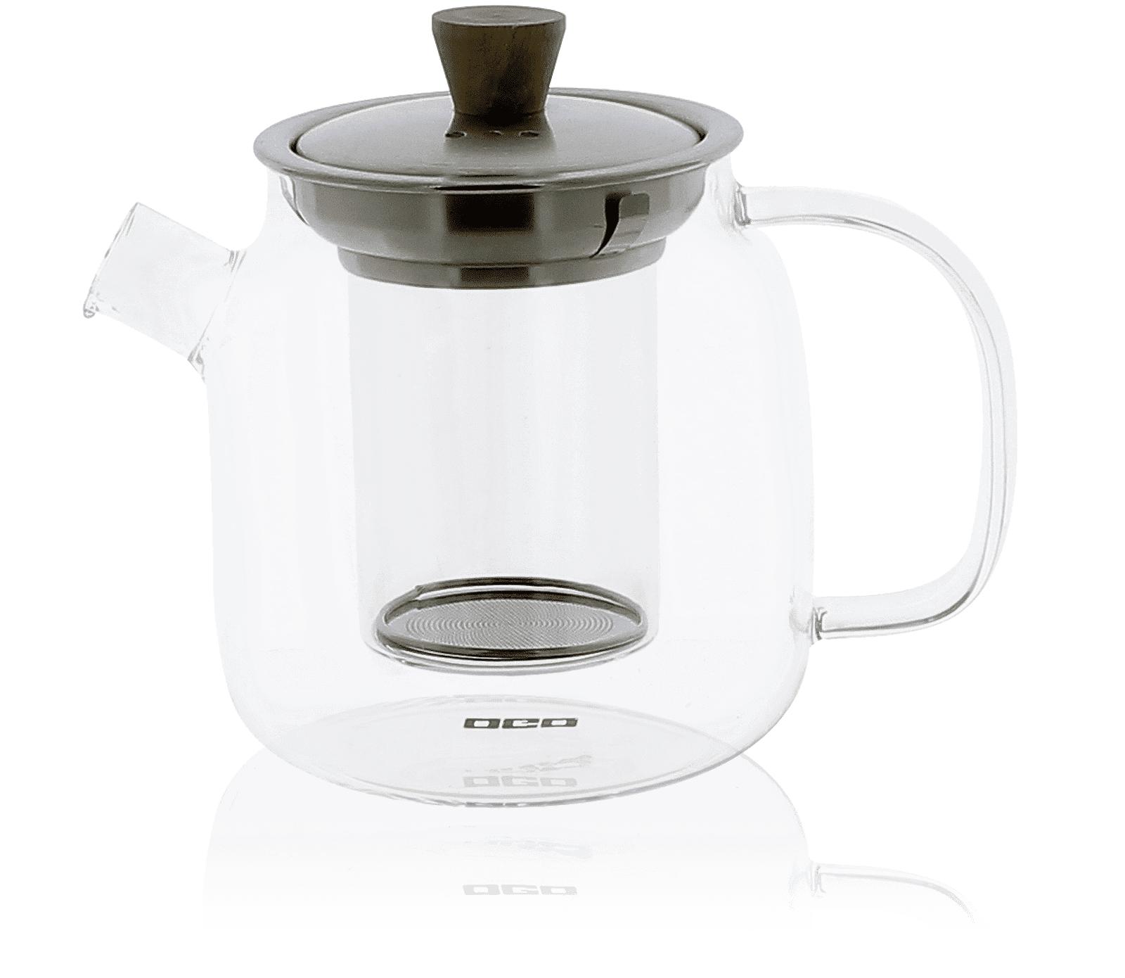 KUSMI TEA Théière pour le Thé en verre 0,70L OGO Kusmi Tea