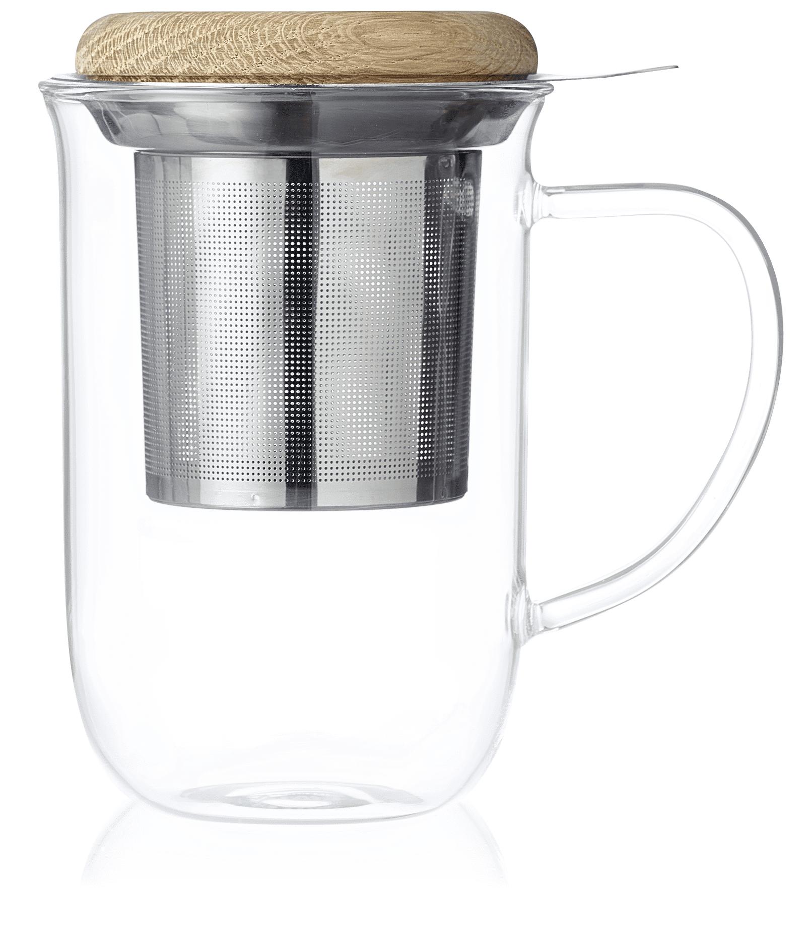 KUSMI TEA Tisanière en verre Minima - Accessoire pour le thé - Kusmi Tea