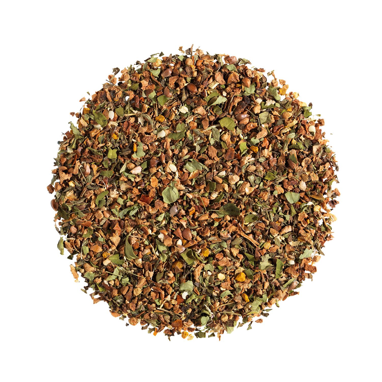 KUSMI TEA Happy Mind Infusion bio Plante, citron, pomme, épices  Kusmi Tea