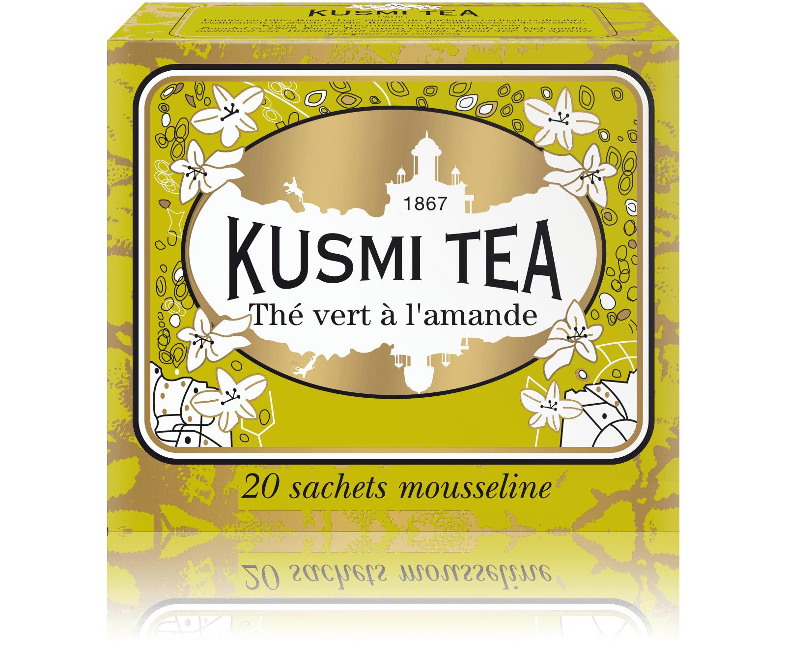 KUSMI TEA Vert Amande Thé vert  Kusmi Tea