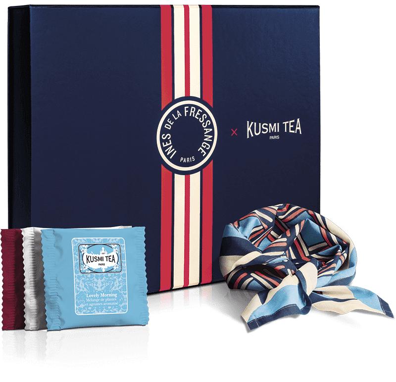 KUSMI TEA Coffret bio Les voyages d Ines  Thé noir  Kusmi Tea