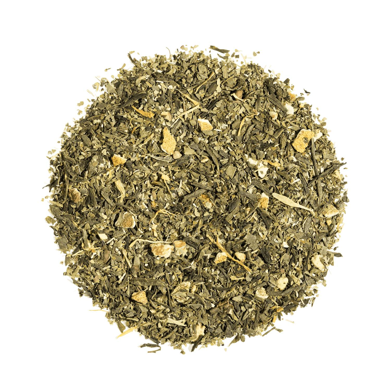 KUSMI TEA Lovely Morning bio - Thé vert, maté, agrumes - Thé en vrac - Kusmi Tea