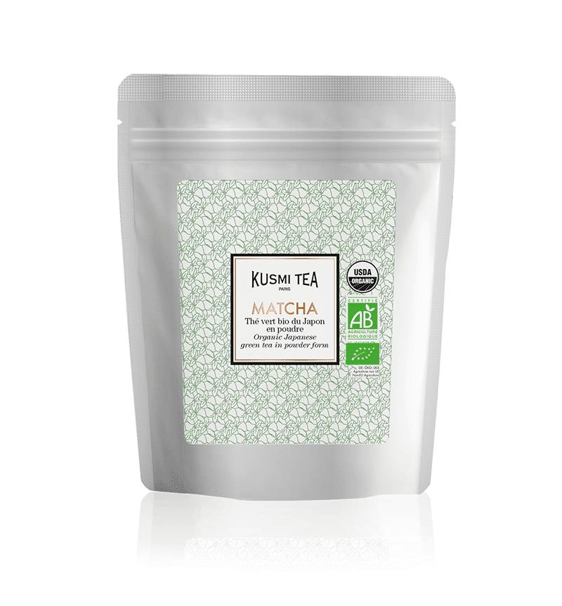 KUSMI TEA Matcha bio - Thé vert bio du Japon en poudre - Thé en vrac - Kusmi Tea