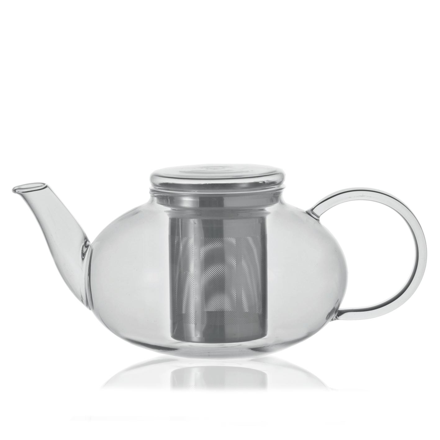 KUSMI TEA Théière en verre 1,2L Moon Kusmi Tea