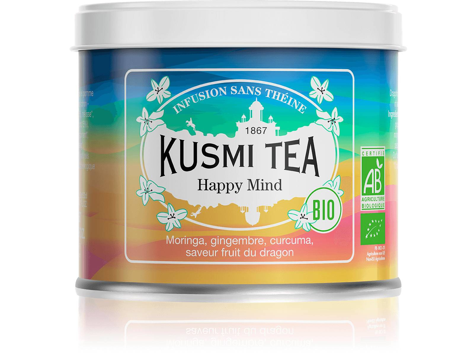 KUSMI TEA Happy Mind (Infusion bio) Kusmi Tea