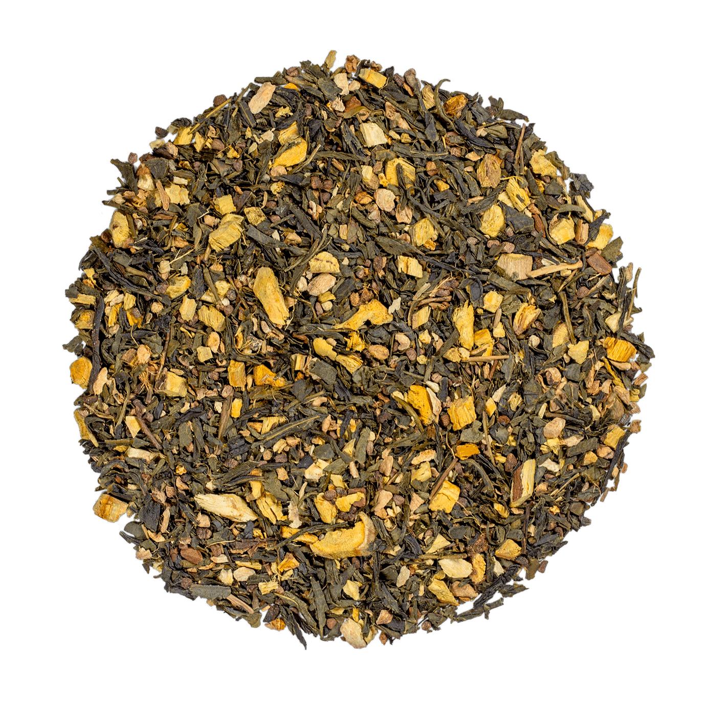 KUSMI TEA Label Imperial bio - Thé vert, épices, cannelle - Thé en vrac - Kusmi Tea