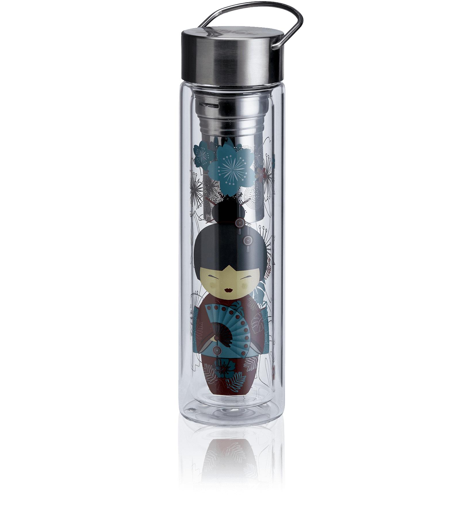 KUSMI TEA Théière nomade en verre 35Cl - Accessoire pour le thé - Kusmi Tea