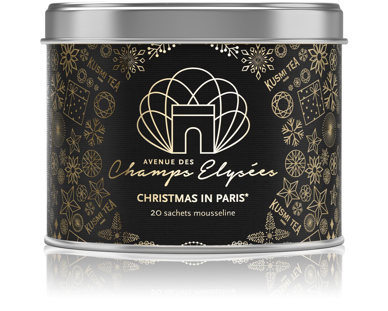KUSMI TEA Christmas in Paris  Thé noir  Kusmi Tea
