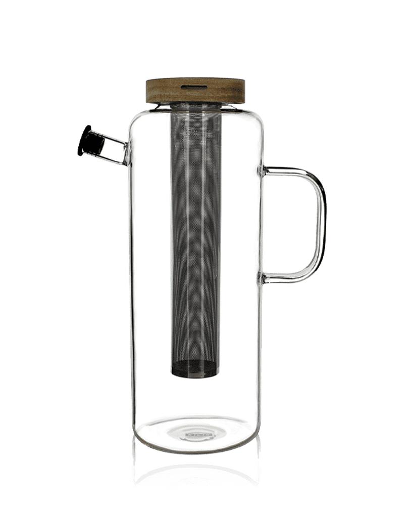 KUSMI TEA Théière carafe 1,2L en verre - Accessoire pour le thé - Kusmi Tea