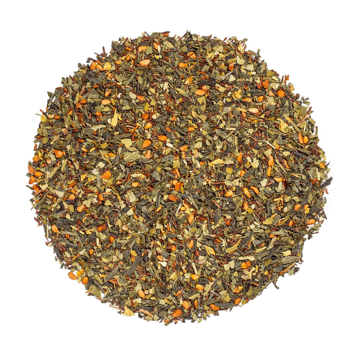 KUSMI TEA Blue Detox bio - Mélange de thé vert, maté et plantes aromatisé ananas - Thé en vrac - Kusmi Tea