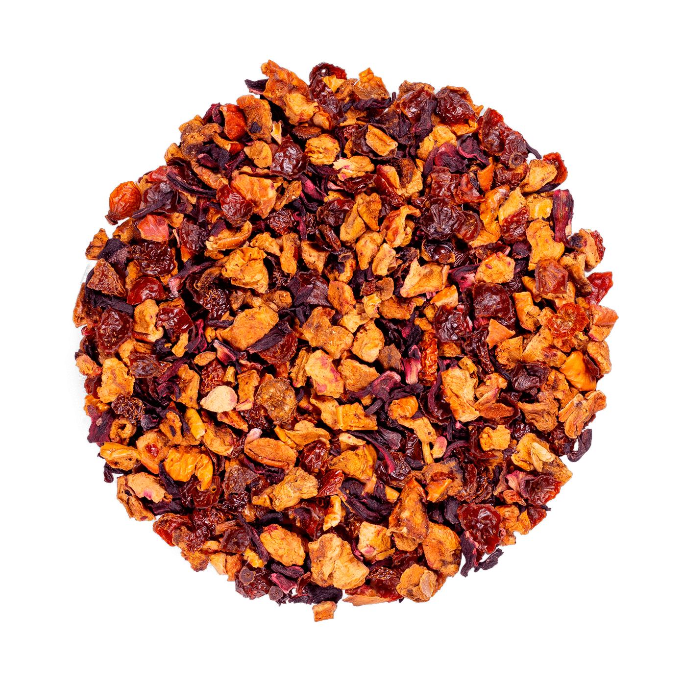 KUSMI TEA AquaExotica (Infusion de fruits bio) - Infusion hibiscus, mangue - Thé en vrac - Kusmi Tea