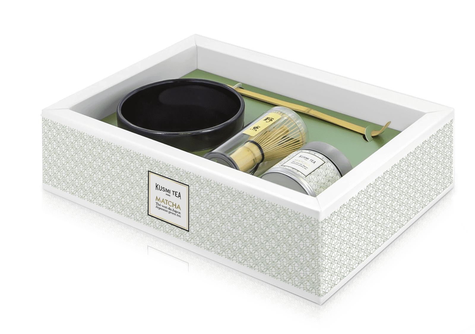 KUSMI TEA Coffret Matcha - Thé vert du Japon - Kusmi Tea