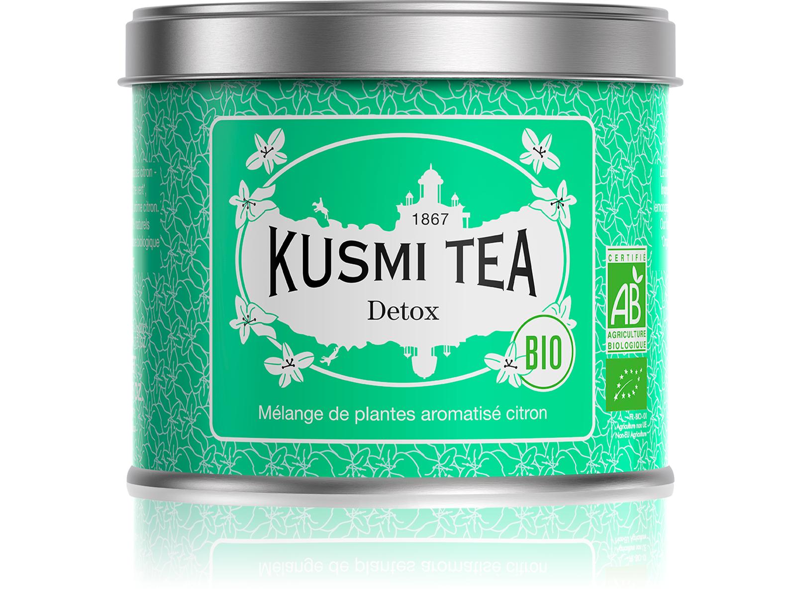 KUSMI TEA Detox bio Thé vert  Kusmi Tea
