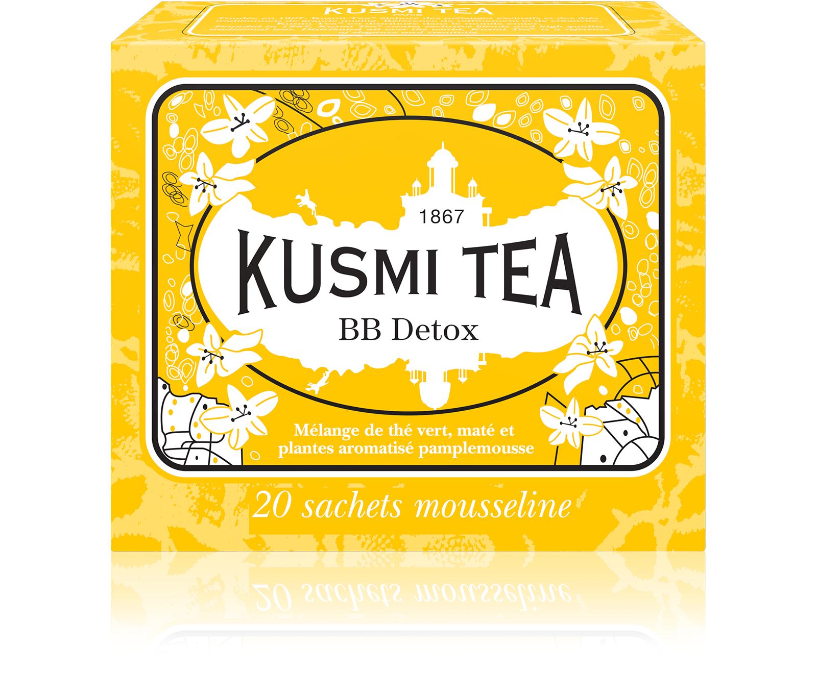 KUSMI TEA BB Detox Thé vert  Kusmi Tea