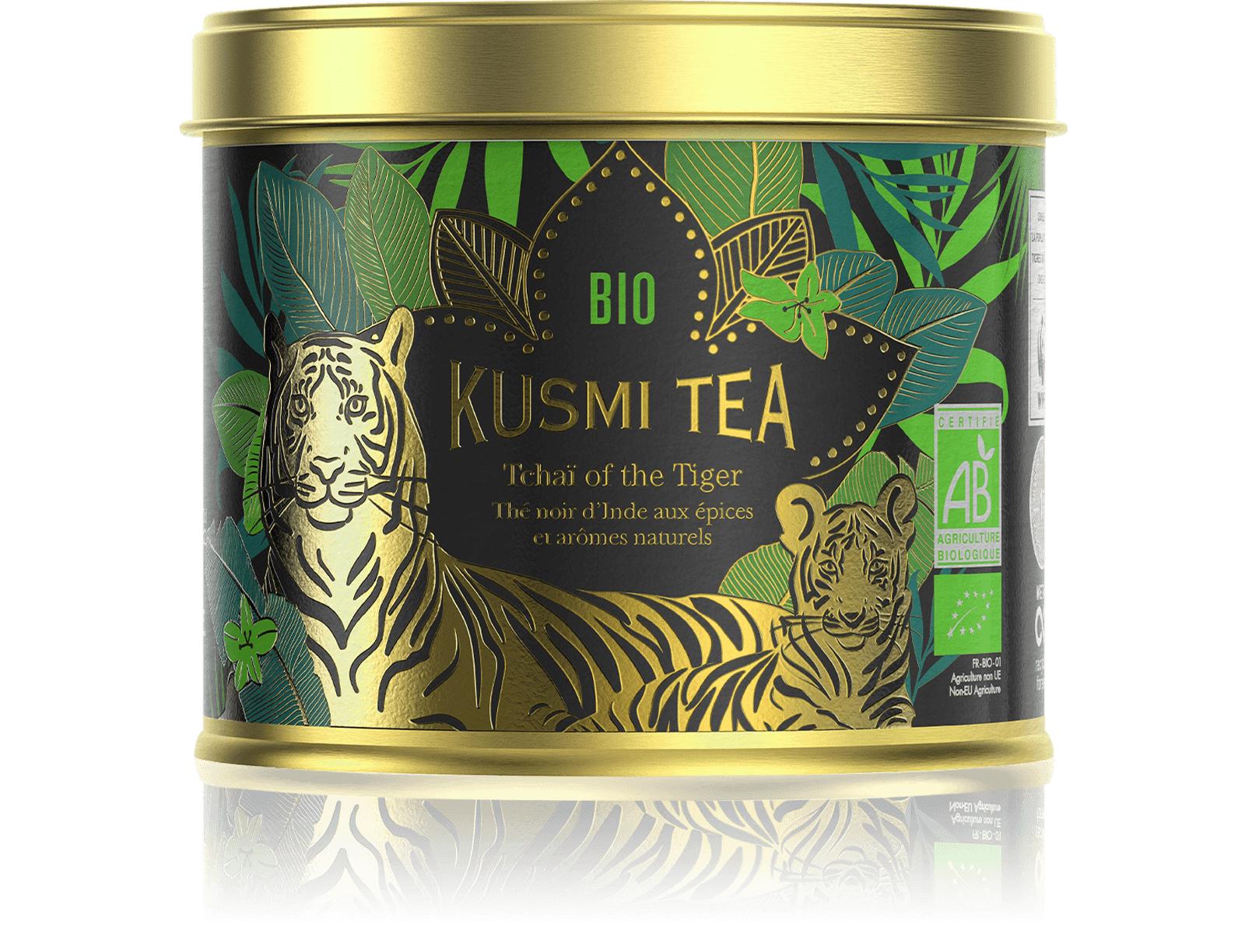 KUSMI TEA Tchaï of the Tiger Bio - Thé noir d'Inde aux épices - Kusmi Tea
