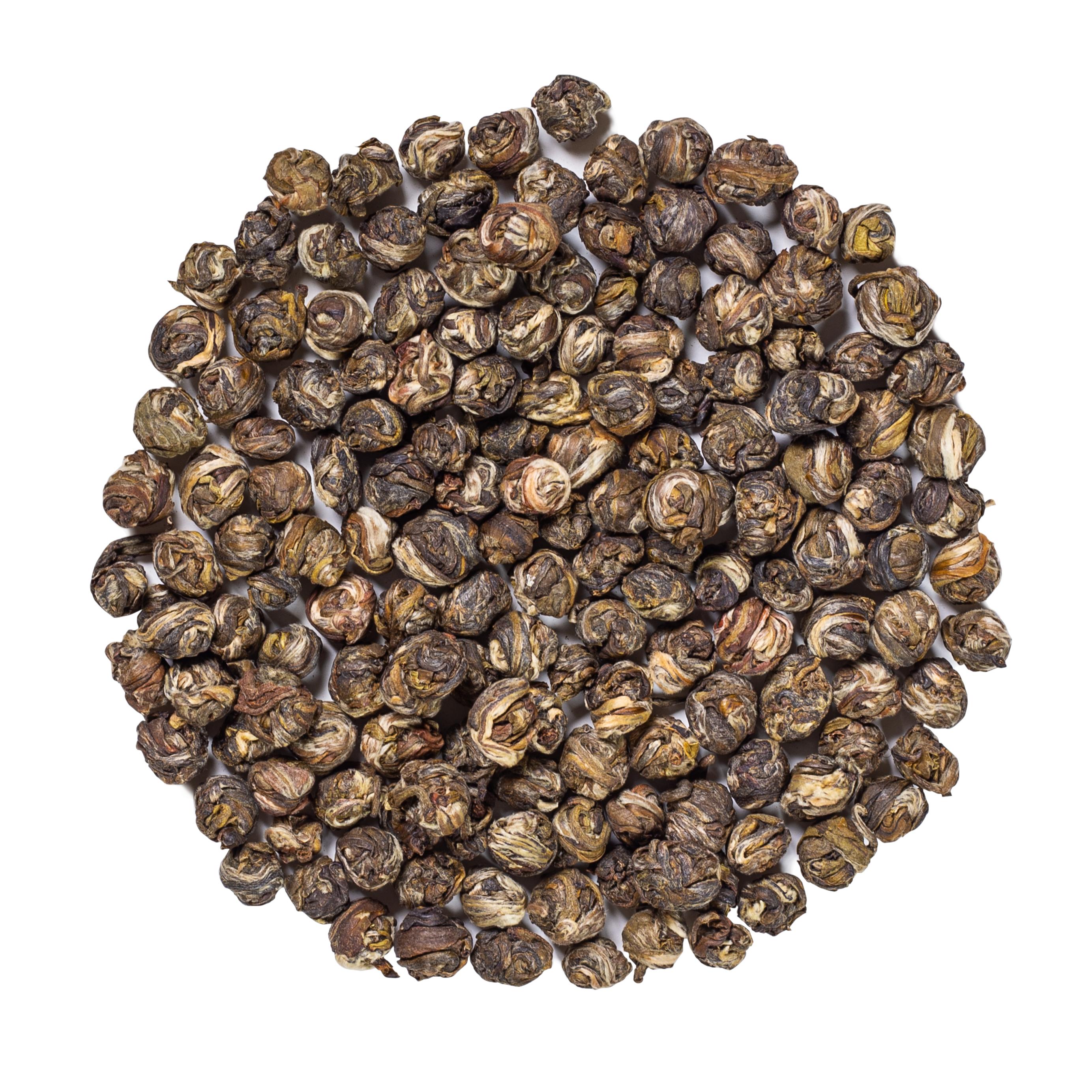KUSMI TEA Perles de Jade au Jasmin bio - Thé vert de Chine, Jasmin - Thé en vrac - Kusmi Tea