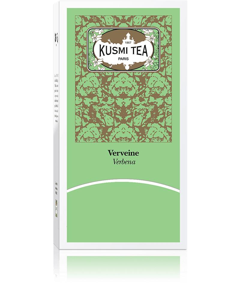 KUSMI TEA Verveine - Infusion, Verveine, Menthe - Sachets de thé - Kusmi Tea