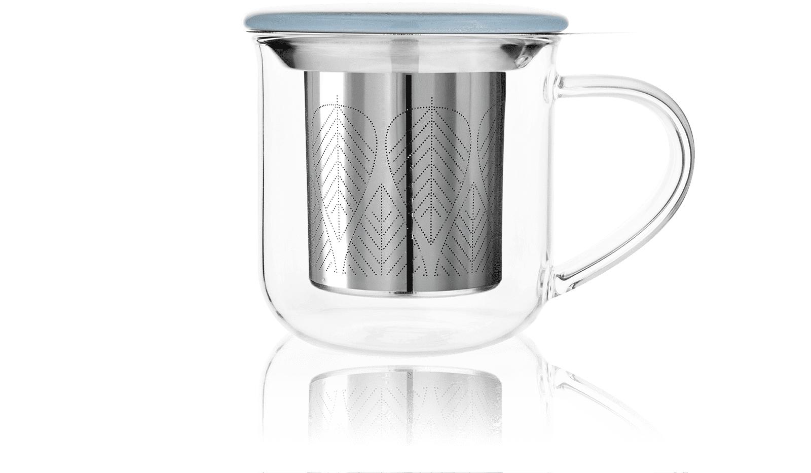 KUSMI TEA Tisanière Verre Eva 40Cl - Accessoire pour le thé - Kusmi Tea