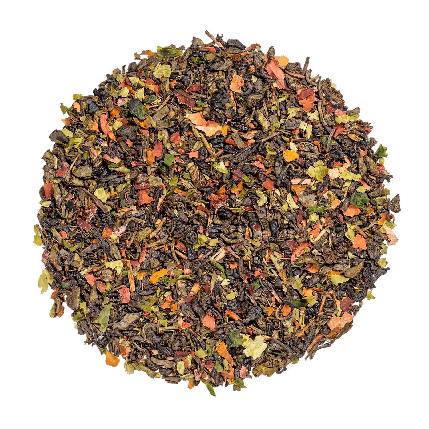 KUSMI TEA Algothé - Thé vert aromatisé aux algues et à la menthe - Thé en vrac - Kusmi Tea