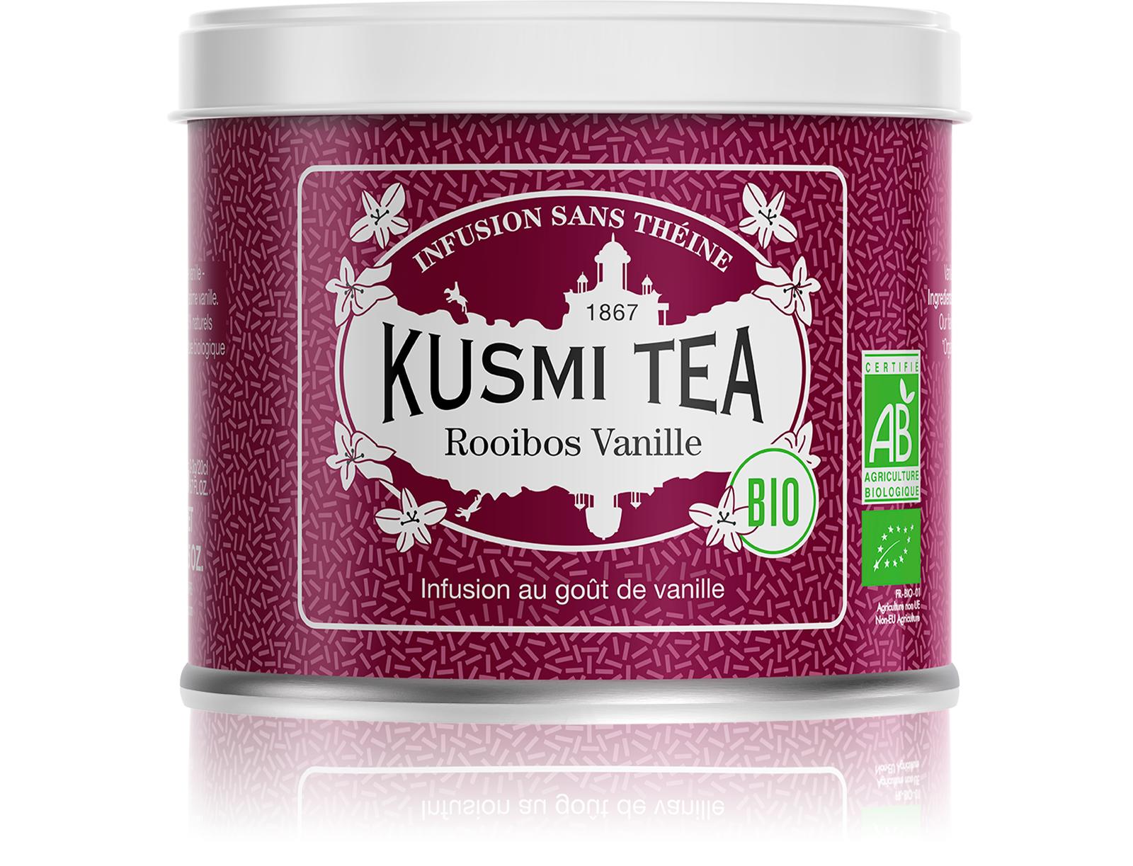 KUSMI TEA Rooibos Vanille (Infusion bio)  Infusion  Kusmi Tea