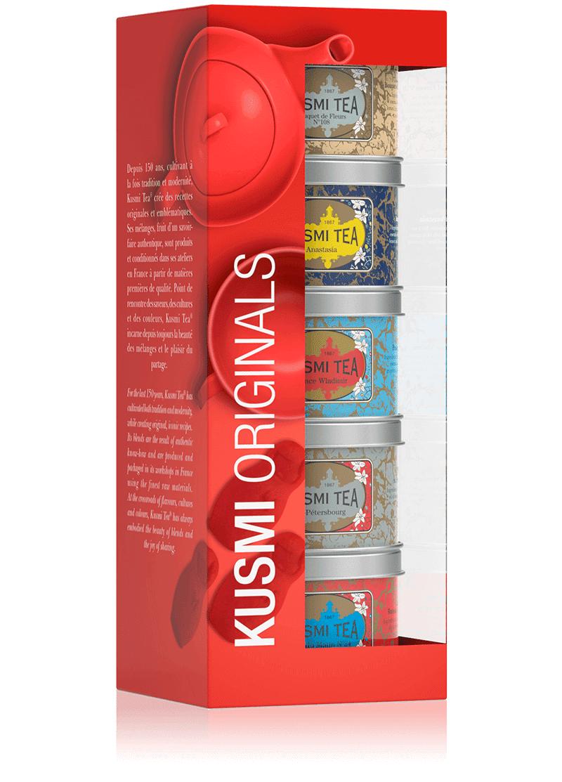 KUSMI TEA Coffret Kusmi Originals - Earl grey, thé en vrac - Kusmi Tea