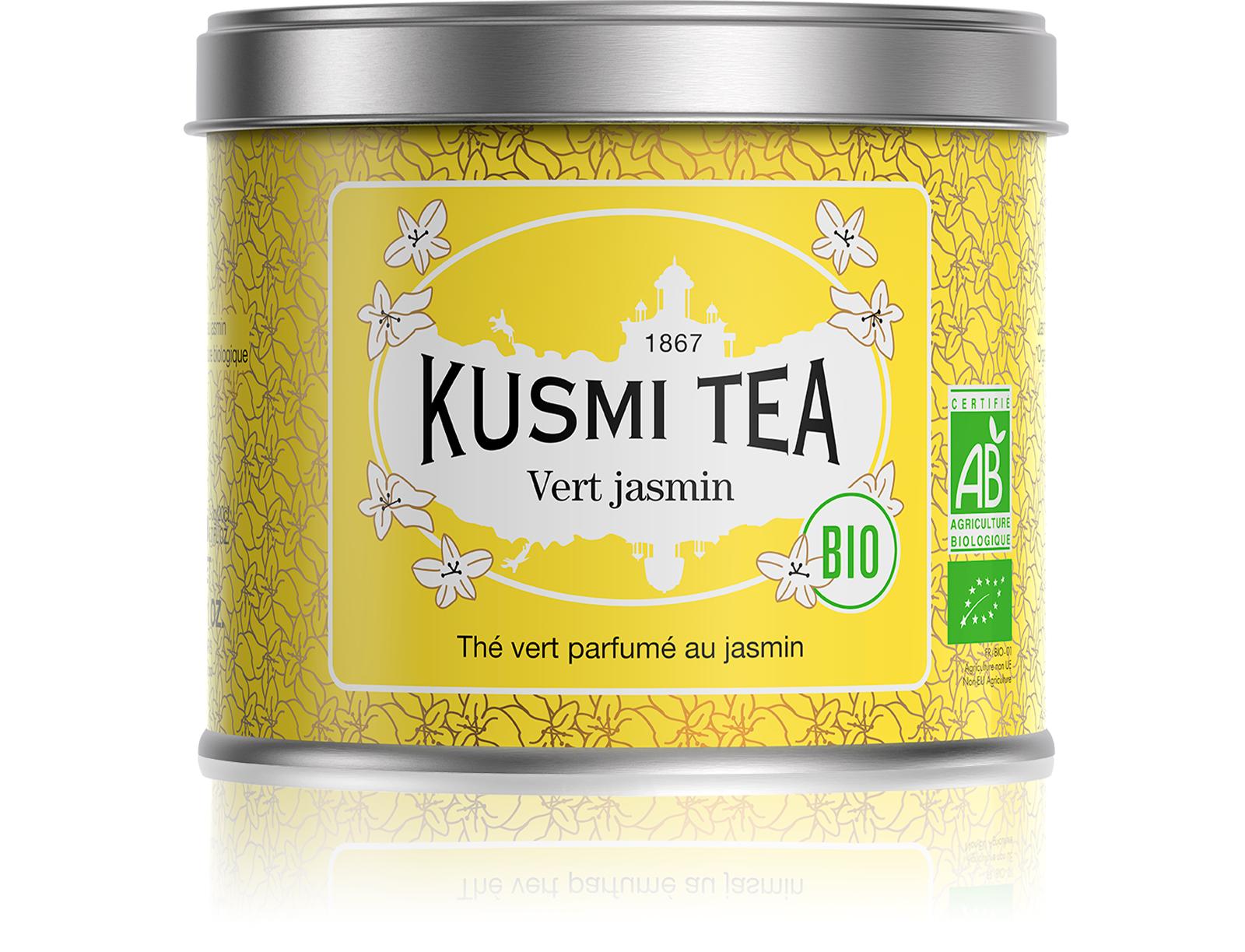 KUSMI TEA Vert Jasmin bio Thé vert  Kusmi Tea