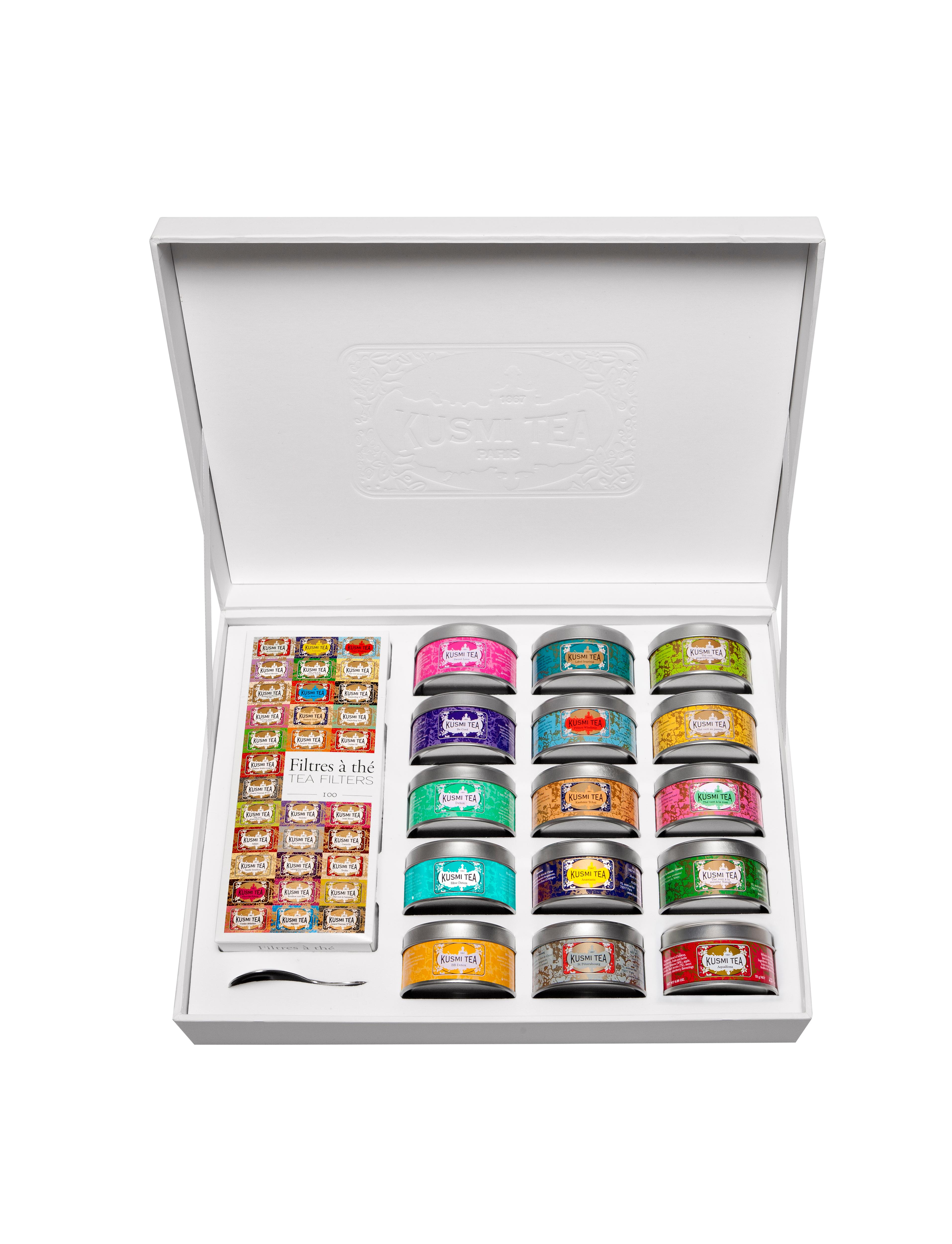 KUSMI TEA La Collection - Coffret cadeau thé - Kusmi Tea