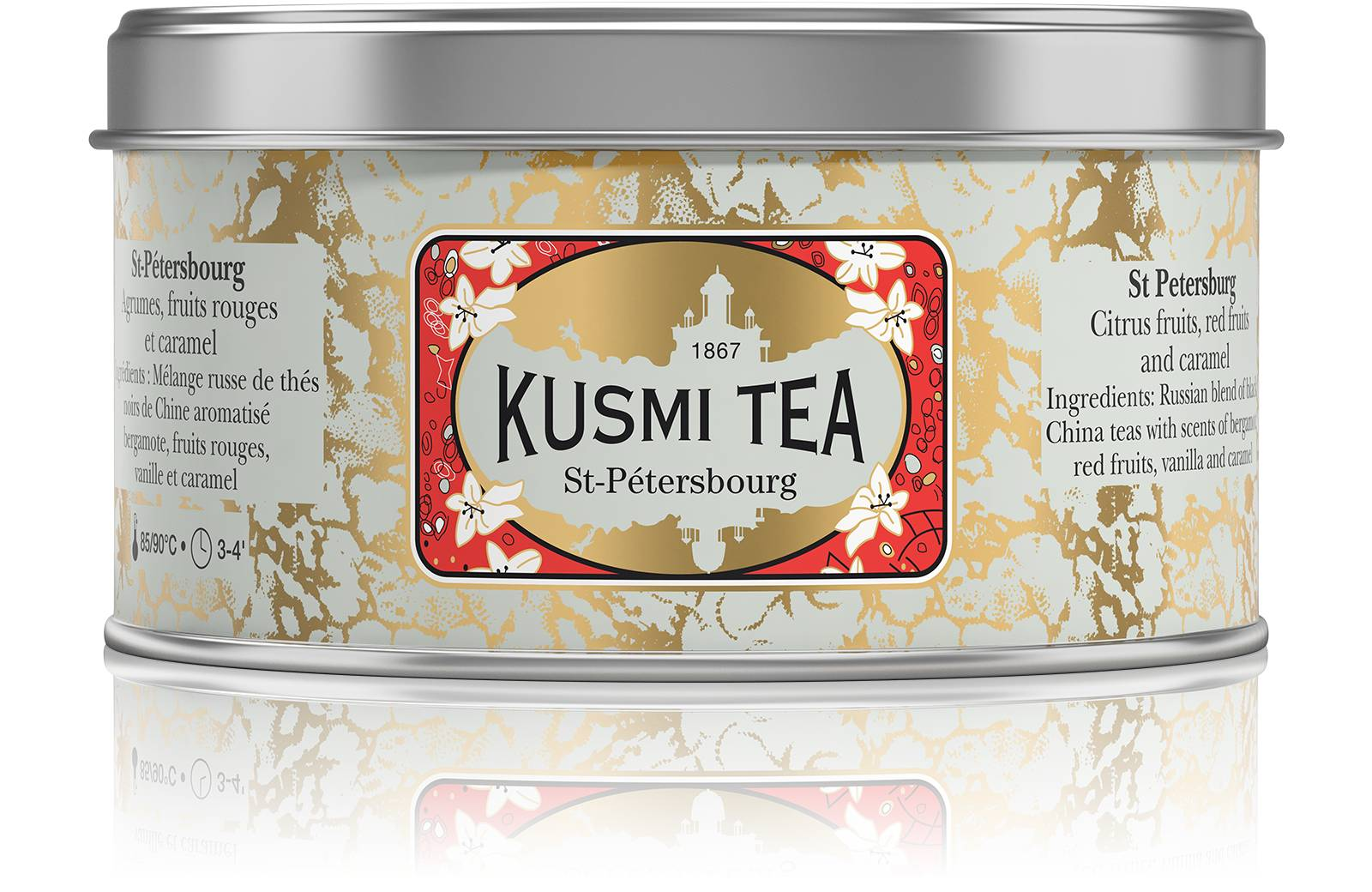KUSMI TEA St-Pétersbourg  Thé noir  Kusmi Tea