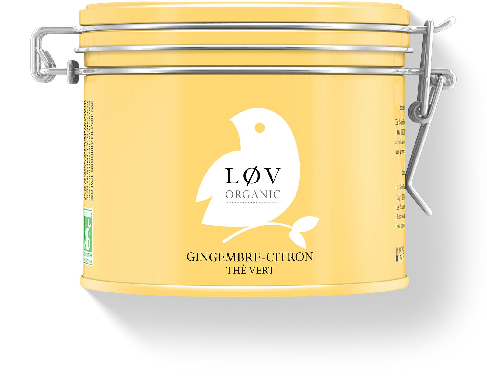 KUSMI TEA Gingembre-Citron