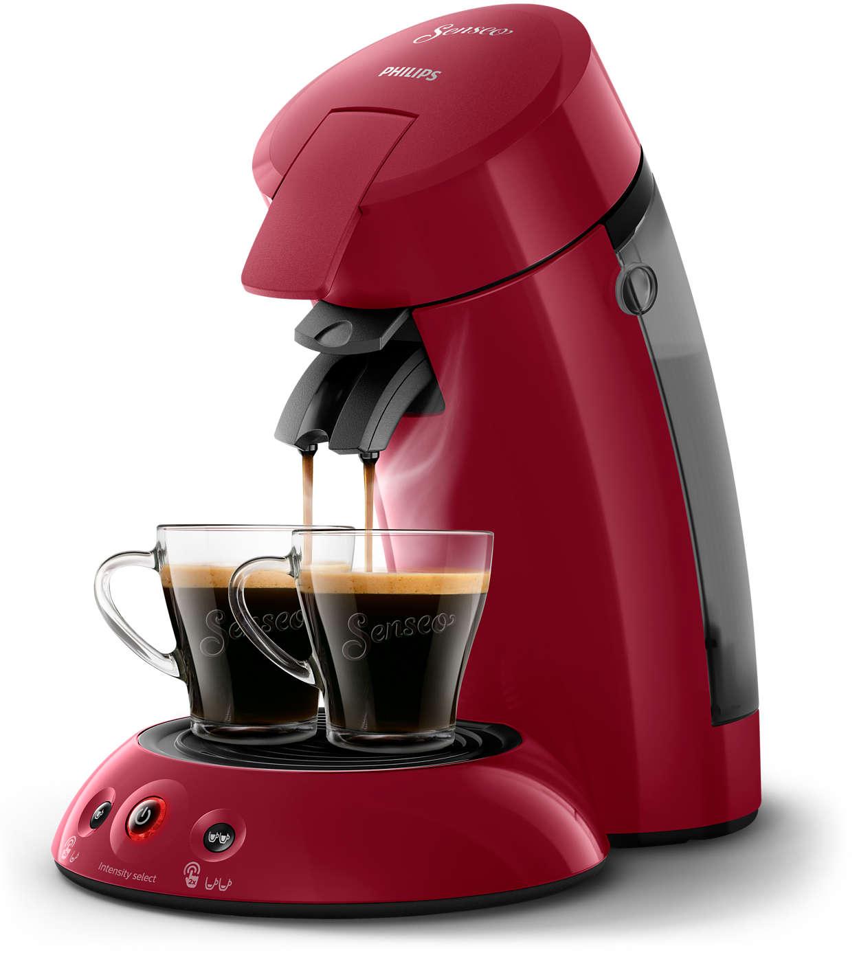 Philips Cafetiere-dosette PHILIPS - Senseo Original Rouge 0.7 L (HD6554/91)