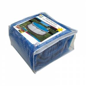 Swimline Bâche à bulles standard pour piscine hors-sol acier Dimension - Ovale 7,31 x 3,65m - Publicité