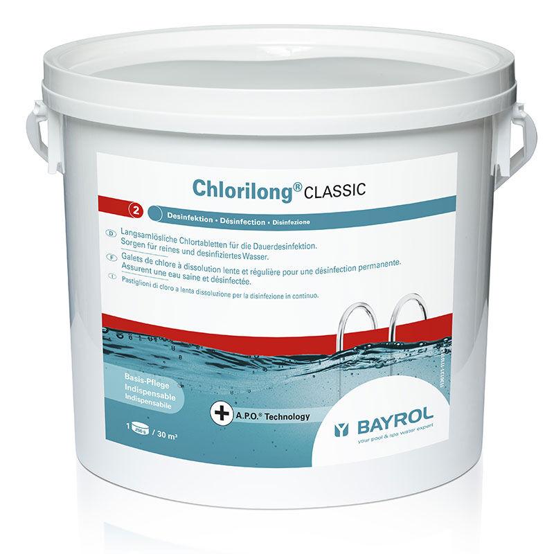 Bayrol Chlorilong Classic Bayrol - chlore lent Quantité - Seau de 10 kg
