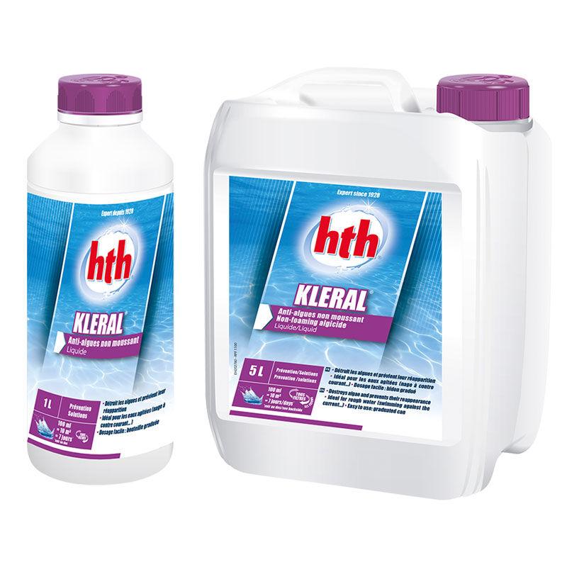 HTH Kleral - anti-algues non moussant Quantité - Bidon de 5 L