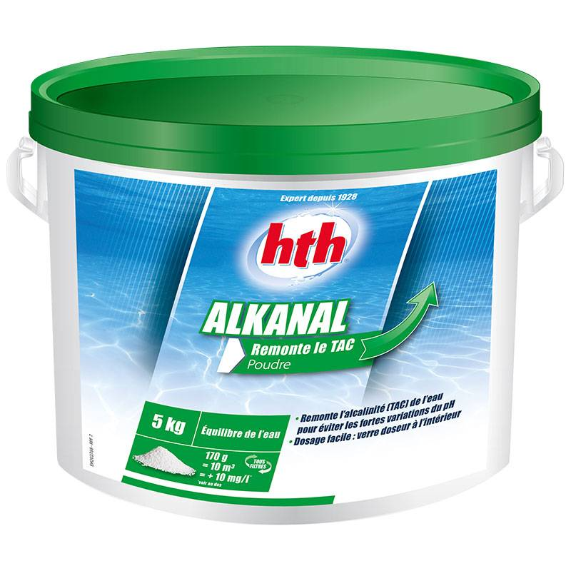 HTH Alkanal Quantité - Seau de 10 kg