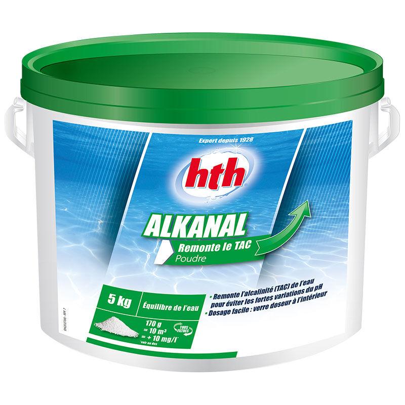HTH Alkanal Quantité - Seau de 5 kg