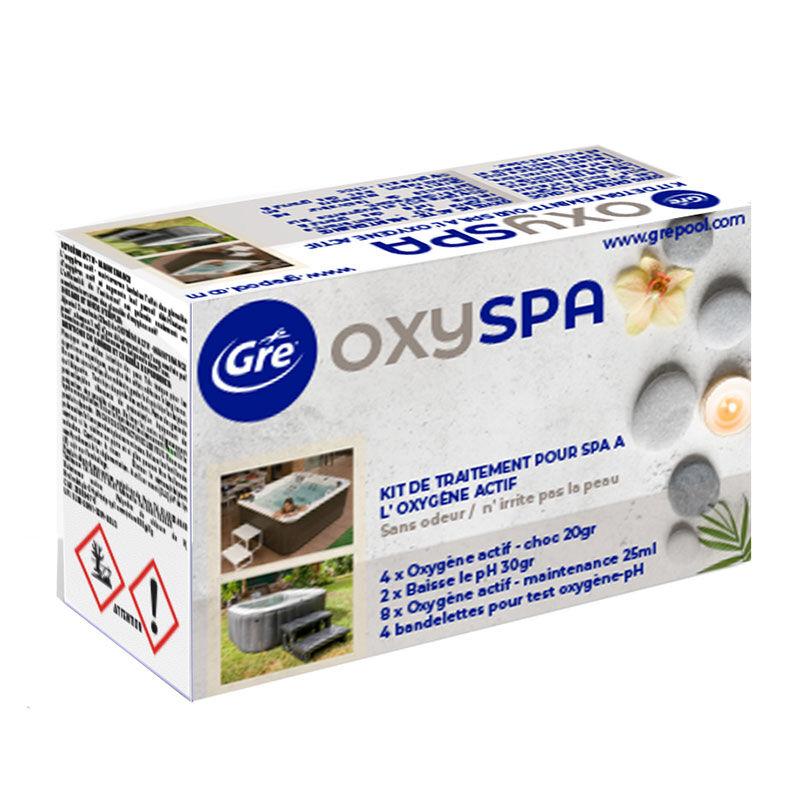 Gré Kit de traitement Spa set Gre à l'oxygène actif
