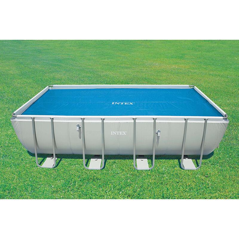 Intex Bâche à bulles pour piscine Intex rectangulaire Modèle - Piscine rectangulaire 5,49 x 2,74m gris renforcé