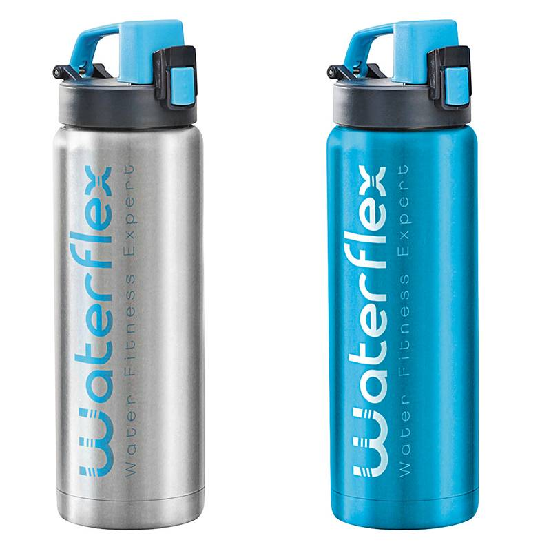 Waterflex Gourde isotherme Waterflex Coloris - Bleu