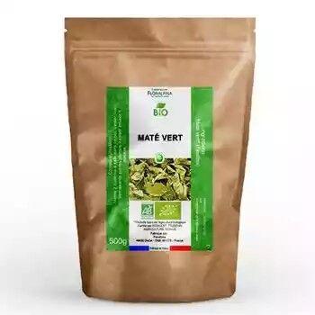 Laboratoire Floralpina Maté vert bio (feuilles coupées) 500g - Yerba maté