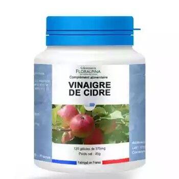 Laboratoire Floralpina Vinaigre de cidre 120 gélules