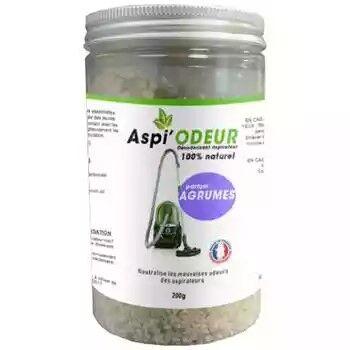 Laboratoire Floralpina Aspi'odeur agrume 200g - désodorisant pour aspirateur