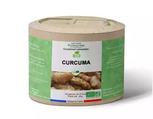 Laboratoire Floralpina Curcuma bio 120 gélules
