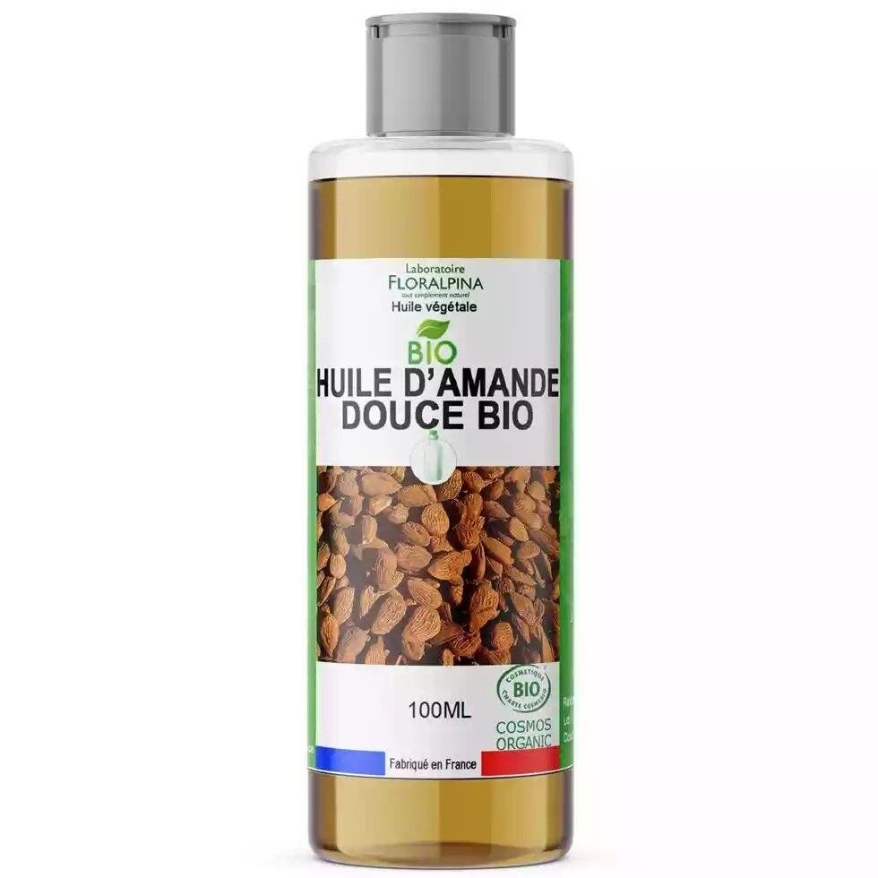 Laboratoire Floralpina Huile végétale d'amande douce BIO - 100 ml