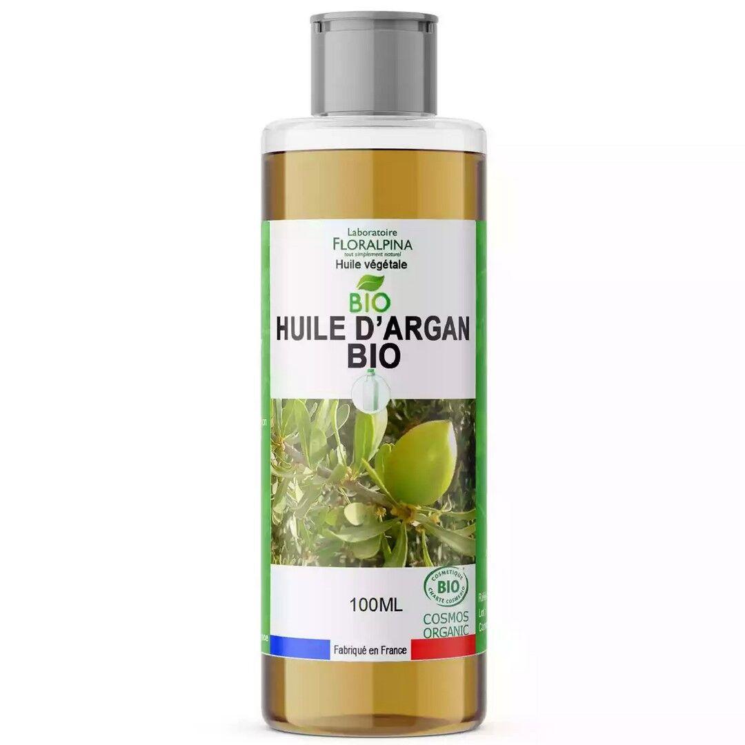 Laboratoire Floralpina Huile végétale d'argan BIO - 100 ml
