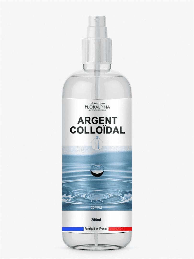 Laboratoire Floralpina Spray argent colloïdal 20ppm 250ml