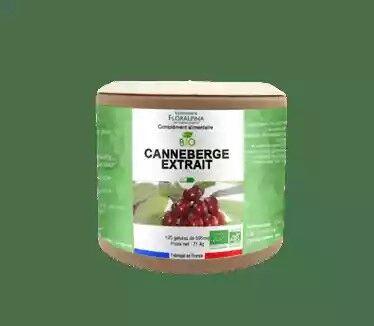 Floralpina Canneberge extrait bio 120 gélules